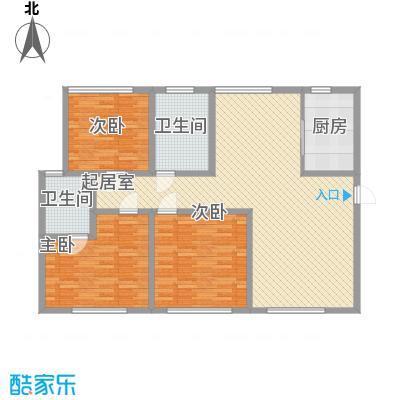 弘基书香园(三期) 3室 户型图