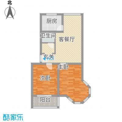 天建天和园92.96㎡天建天和园户型图冬园两室两厅一卫户型2室2厅1卫户型2室2厅1卫