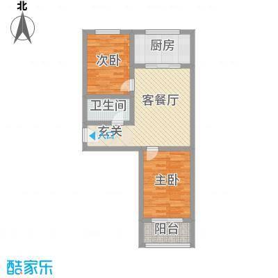 天建天和园75.00㎡天建天和园户型图两室两厅一卫户型2室2厅1卫户型2室2厅1卫