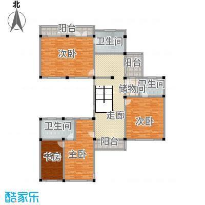 桃坞巷889.00㎡桃坞巷户型图万卷堂K户型二层8室2厅10卫2厨户型8室2厅2厨