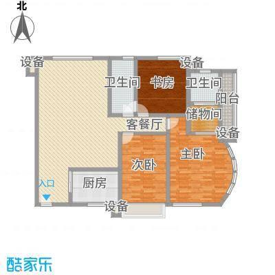 三箭如意苑户型图汇景阁户型 3室2厅2卫