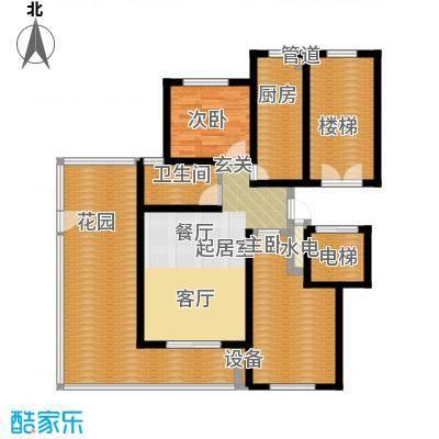 卓越玫瑰园87.00㎡卓越玫瑰园高层I户型2室2厅1卫1厨87.00㎡户型2室2厅1卫1厨