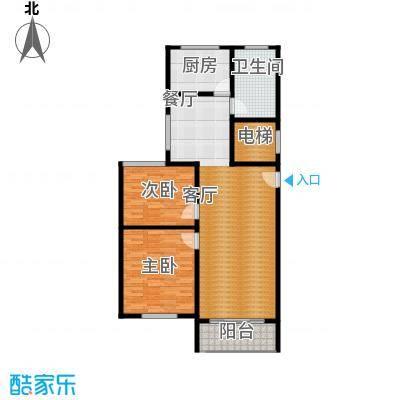 卢湾都市花园102.03㎡上海卢湾都市花园户型10室
