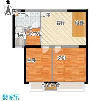 中海龙湾二期160.00㎡中海龙湾园区高层160平灵动跃层二层户型10室