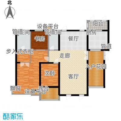 中海龙湾二期190.00㎡中海龙湾园区高层190平阔绰大宅户型10室