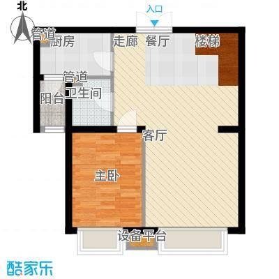 中海龙湾二期160.00㎡中海龙湾园区高层160平灵动跃层一层户型10室