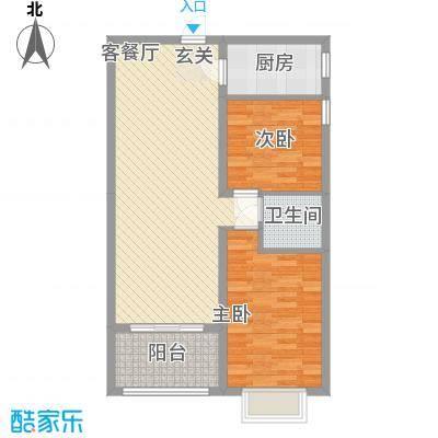 南天・太阳城南天・滨海圣境户型图(6号室)户型10室