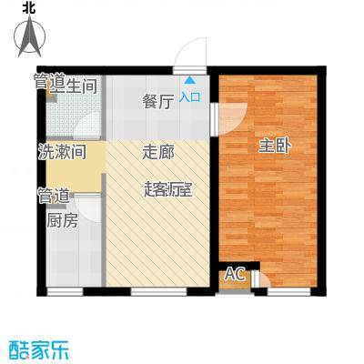 佳和新城六期65.00㎡佳和新城六期户型图A户型1室2厅1卫户型1室2厅1卫