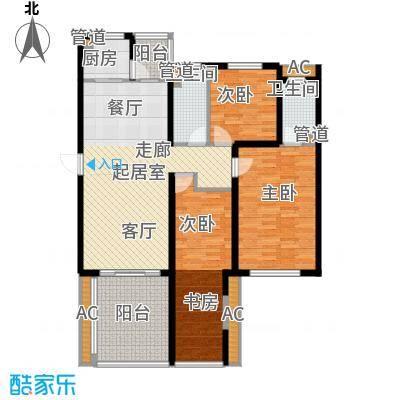 佳和新城六期137.55㎡佳和新城六期户型图B13室2厅2卫户型3室2厅2卫