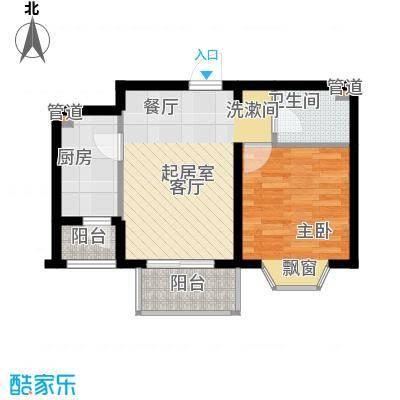 佳和新城六期57.31㎡佳和新城六期户型图G户型1室1厅1卫户型1室1厅1卫