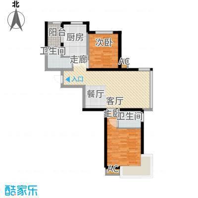 新加坡城102.00㎡新加坡城户型图24FA户型2室2厅2卫户型2室2厅2卫