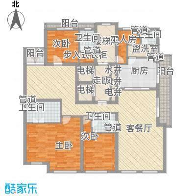华丽家族古北花园190.00㎡华丽家族古北花园3室户型3室