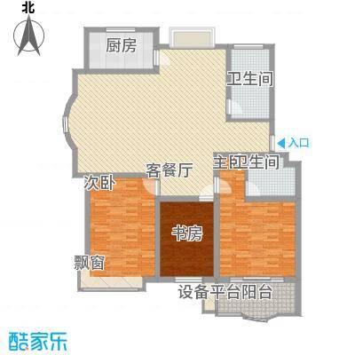 正大明泉花园146.87㎡正大明泉花园户型图3室2厅2卫户型10室