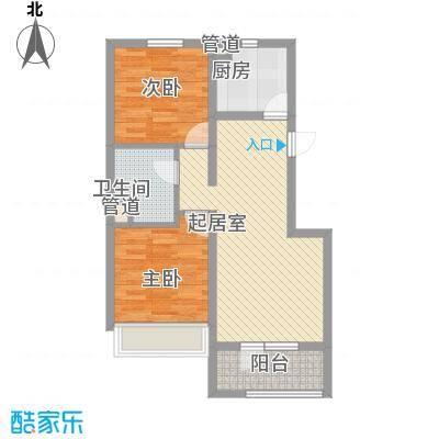 越秀・星汇蓝海74.00㎡越秀・星汇蓝海户型图B1户型2室2厅1卫户型2室2厅1卫