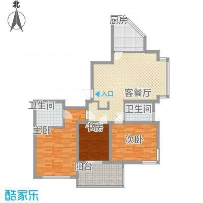 长发虹桥公寓128.00㎡上海长发虹桥公寓户型10室