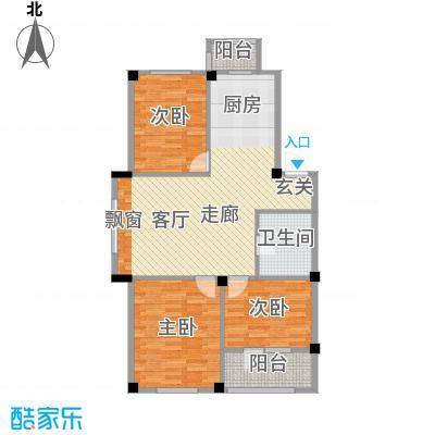 澳海澜庭82.00㎡澳海澜庭户型图82平米户型图3室2厅1卫户型3室2厅1卫