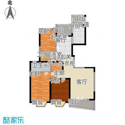 名江七星城161.80㎡上海名江七星城户型10室