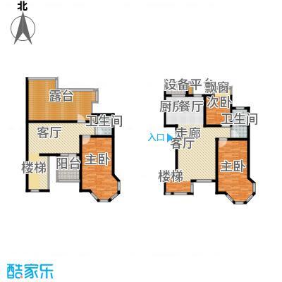 长河湾165.00㎡长河湾户型图A04户型3室2厅2卫户型3室2厅2卫