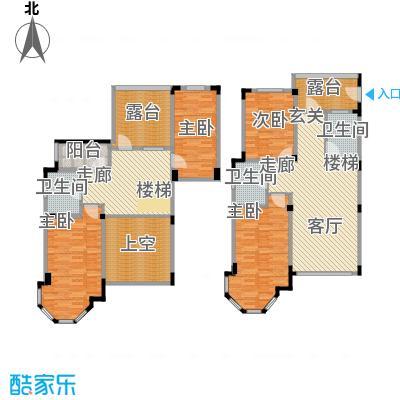 长河湾164.24㎡长河湾户型图C094室2厅2卫户型4室2厅2卫