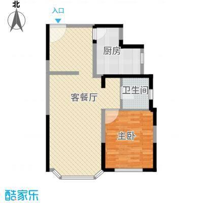 绿洲紫荆花园绿洲紫荆花园一室户型10室
