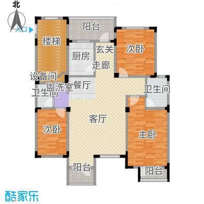长河湾125.71㎡长河湾户型图C063室2厅2卫户型3室2厅2卫