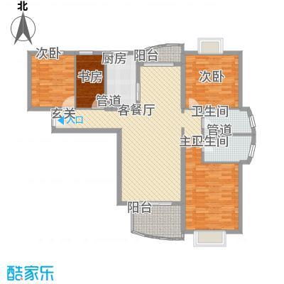 东方都市景苑144.50㎡上海东方都市景苑户型10室