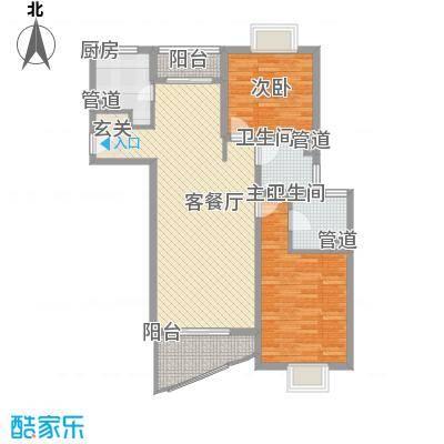 水木年华花园117.00㎡上海水木年华花园户型10室