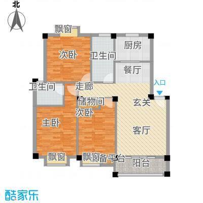 江枫园别墅江枫园别墅户型图江枫园三室两厅两卫一厨3室2厅2卫1厨户型10室