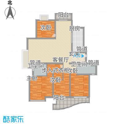 水木年华花园183.00㎡上海水木年华花园户型10室