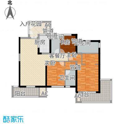 天隆・三千海155.19㎡天隆・三千海户型图珊瑚园2栋B-2户型3室2厅2卫户型3室2厅2卫