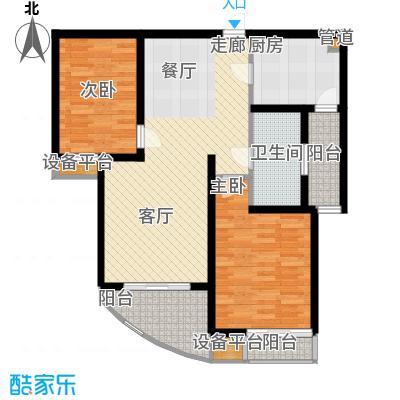 慧芝湖花园90.00㎡慧芝湖花园户型图户型图2室2厅1卫1厨户型2室2厅1卫1厨