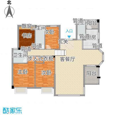 弘基书香园 4室户型图