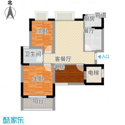 鑫苑碧水尚景92.00㎡鑫苑碧水尚景3室户型3室
