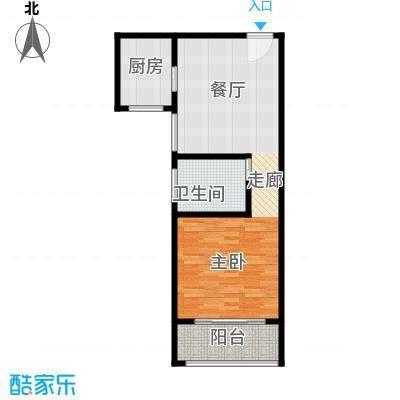 卢湾都市花园62.41㎡上海卢湾都市花园户型10室