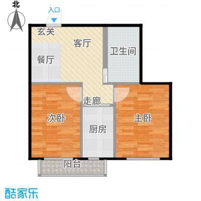 新汉城锦都70.03㎡新汉城锦都户型图D户型2室1厅1卫户型2室1厅1卫