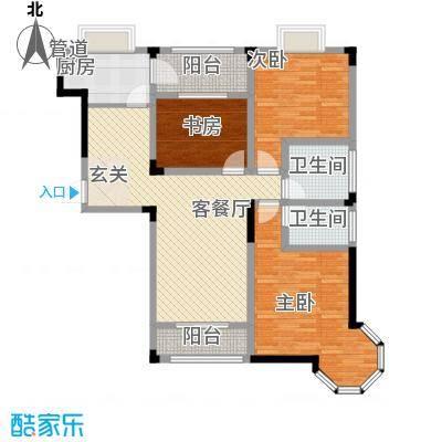 长兴苑139.54㎡长兴苑三室两厅两卫139.54平米A户型10室