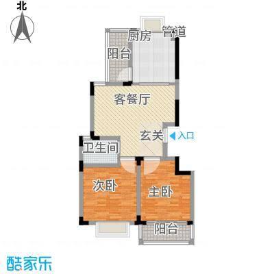 长兴苑102.24㎡长兴苑两室两厅一卫102.24平米F户型10室