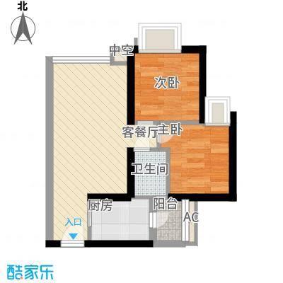 御景华城51.00㎡深圳京基御景华城户型图6户型10室