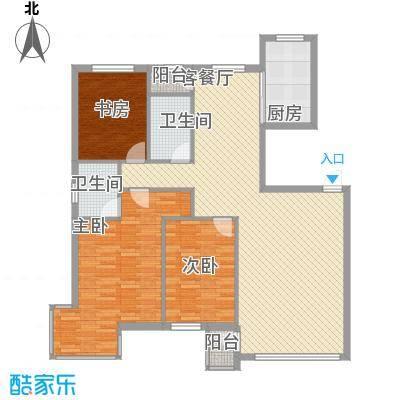 御泉华庭131.82㎡御泉华庭户型图小高层3室2厅2卫户型3室2厅2卫