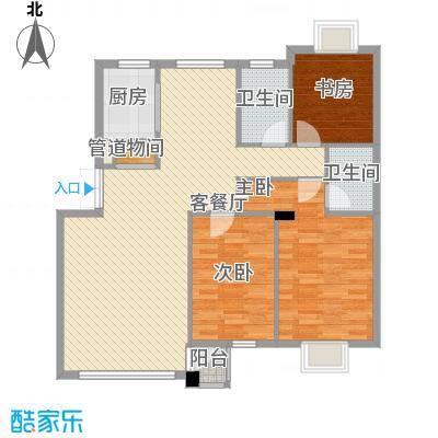 御泉华庭121.91㎡御泉华庭户型图3室2厅2卫户型10室