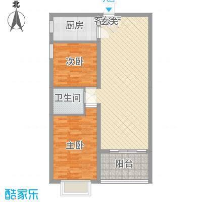 南天・太阳城南天・滨海圣境户型图(5号室)户型10室
