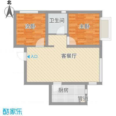 城市玫瑰园67.88㎡城市玫瑰园户型图G1-012室2厅1卫户型2室2厅1卫