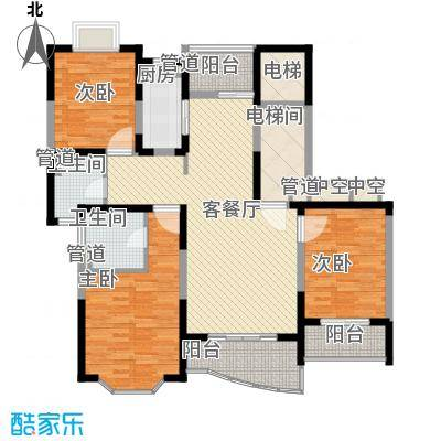 强生古北花园上海强生古北花园户型10室