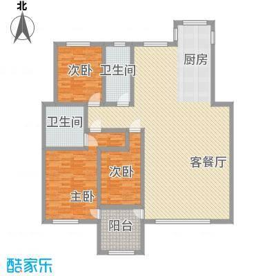 亿达国际新城亿达国际新城3室户型10室