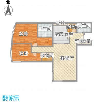 新地国际公寓苏寓149.00㎡新地国际公寓苏寓户型图2#楼B01户型2室2厅2卫1厨户型2室2厅2卫1厨