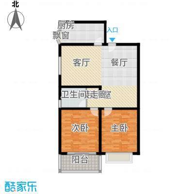 山景明珠花园109.41㎡山景明珠花园户型图3号楼3B户型3室户型3室