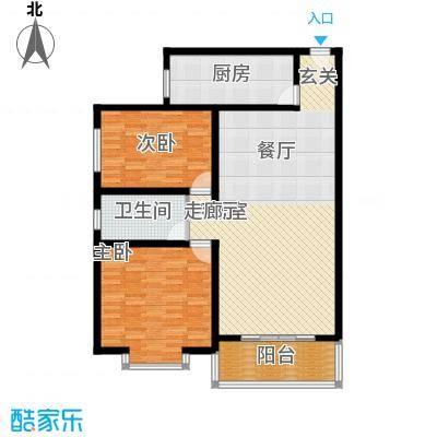 山景明珠花园116.51㎡山景明珠花园户型图4、5号楼B2户型3室户型3室