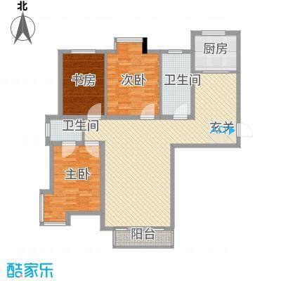 SR国际新城139.00㎡SR国际新城3室户型3室