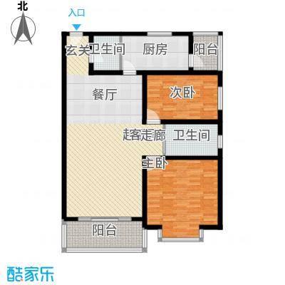 山景明珠花园123.07㎡山景明珠花园户型图4、5号楼C3户型3室户型3室