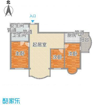 东泰金谷东泰金谷户型图户型使用面积106.78㎡3室2厅2卫1厨户型3室2厅2卫1厨